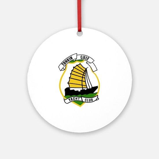 Tonkin Gulf Yacht Club Ornament (Round)