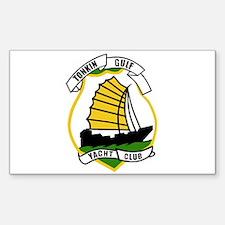 Tonkin Gulf Yacht Club Sticker (Rectangle)