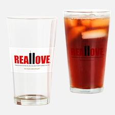 Cute 13 year anniversary Drinking Glass