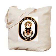 USS Port Royal CG 73 Tote Bag