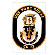 USS Port Royal CG 73 Postcards (Package of 8)