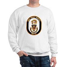 USS Port Royal CG 73 Sweatshirt