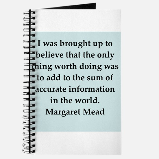 Margaret Mead quotes Journal