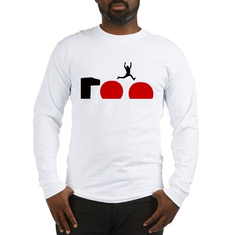 Big Red Balls Jump Long Sleeve T-Shirt
