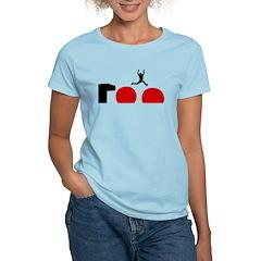 Big Red Balls Jump Women's Light T-Shirt