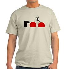 Big Red Balls Jump Light T-Shirt