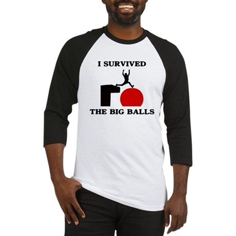 Wipeout - I survived the big Baseball Jersey