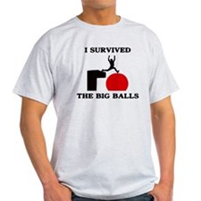 Wipeout - I survived the big T-Shirt