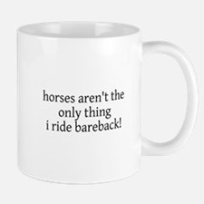 horses aren't the only thing Mug