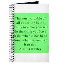 aldous huxley quotes Journal