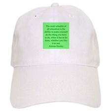 aldous huxley quotes Baseball Cap