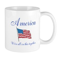America All in this Together Mug