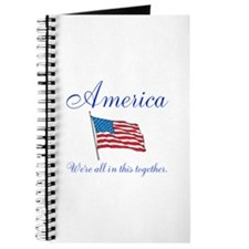 America All in this Together Journal