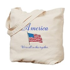 America All in this Together Tote Bag