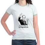 Ron Paul Pub Crawl Jr. Ringer T-Shirt