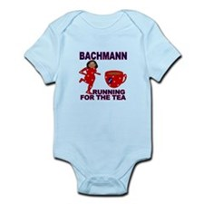 Bachmann Running for the Tea Infant Bodysuit