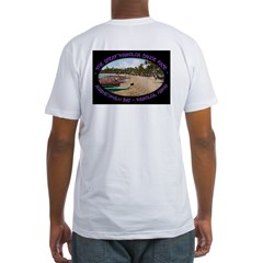 Beach Fitted T-Shirt