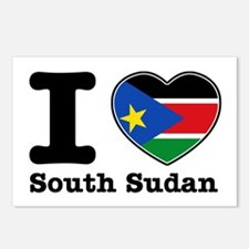 I love South Sudan Postcards (Package of 8)