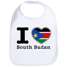 I love South Sudan Bib