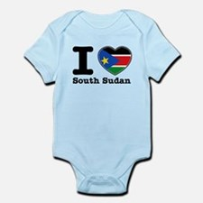 I love South Sudan Infant Bodysuit