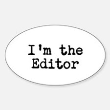I'm the editor Decal