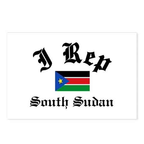 I rep South Sudan Postcards (Package of 8)