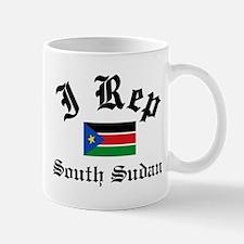 I rep South Sudan Mug