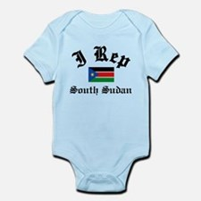 I rep South Sudan Infant Bodysuit