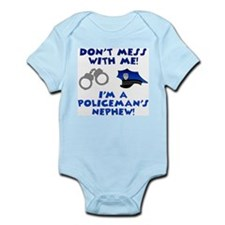 Policeman's Nephew Infant Creeper