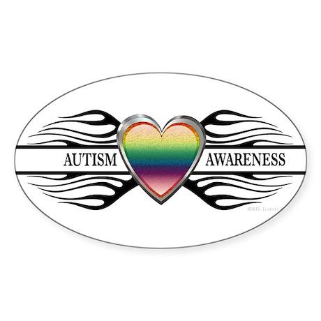 Irratik Nation * Autism Awareness * Sticker (Oval)