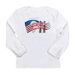 Remembering 911 Long Sleeve Infant T-Shirt