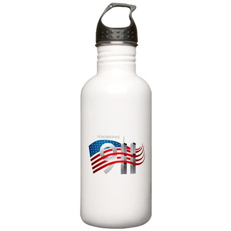 Remembering 911 Stainless Water Bottle 1.0L
