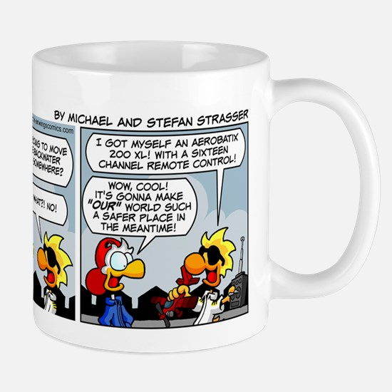 0246 - A truly free aviator Mug