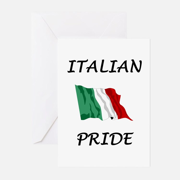 Italian Pride Greeting Cards (Pk of 10)