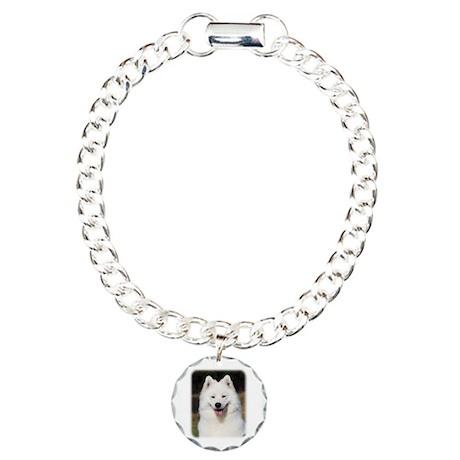 Samoyed 9Y602D-124 Charm Bracelet, One Charm