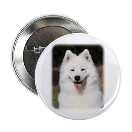 """Samoyed 9Y602D-124 2.25"""" Button (10 pack)"""