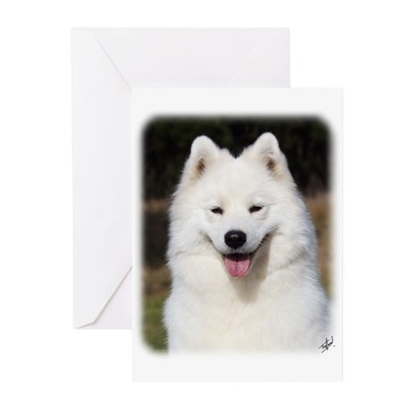 Samoyed 9Y602D-124 Greeting Cards (Pk of 10)