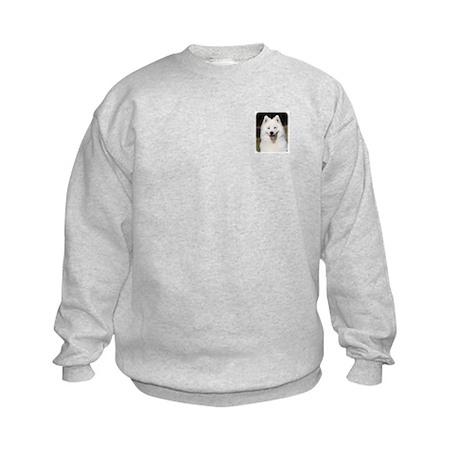 Samoyed 9Y602D-124 Kids Sweatshirt