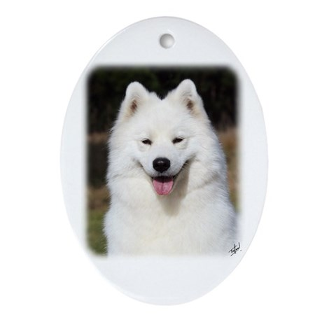 Samoyed 9Y602D-124 Ornament (Oval)
