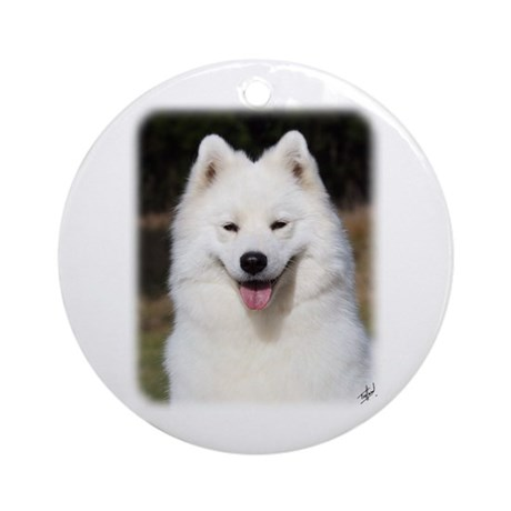Samoyed 9Y602D-124 Ornament (Round)