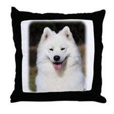 Samoyed 9Y602D-124 Throw Pillow