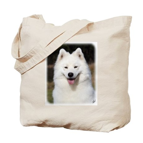 Samoyed 9Y602D-124 Tote Bag