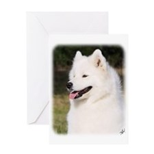Samoyed 9Y602D-127 Greeting Card