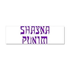 Shayna Punim - Car Magnet 10 x 3