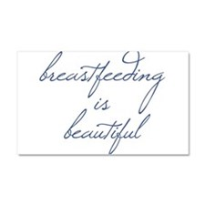Breastfeeding Is Beautiful - Car Magnet 20 x 12