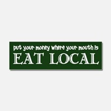 Local Money - Car Magnet 10 x 3