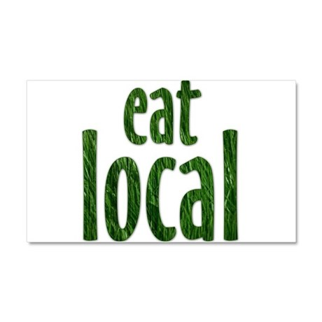 Eat Local - Car Magnet 20 x 12