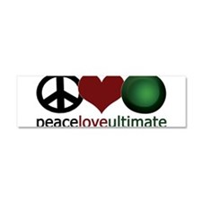 Ultimate Love - Car Magnet 10 x 3