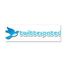Twitterpated - Car Magnet 10 x 3