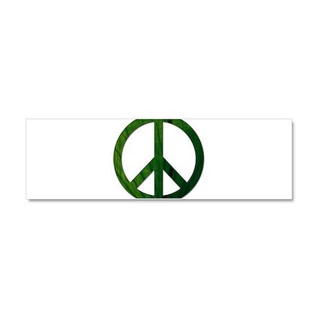 Leaf Peace - Car Magnet 10 x 3
